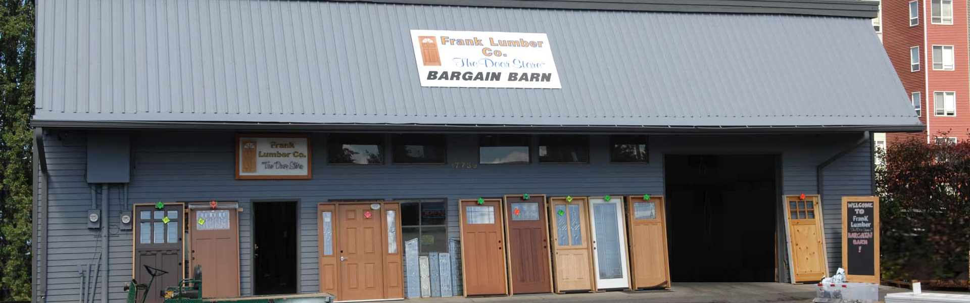 Frank Lumber The Door Store The Bargain Barn Door Deals