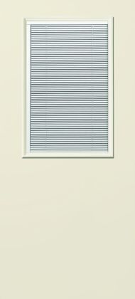 S-131 Traditional Half-Lite w/ Mini-Blinds Flush
