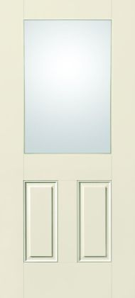 S-2100 Traditional Fiberglass 1/2-Lite 2-Panel