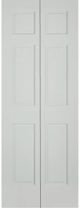 Traditional Primed 6-Panel Bifold BP-66